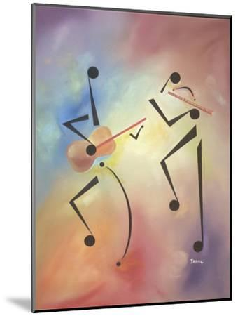 Flutina-Ikahl Beckford-Mounted Giclee Print
