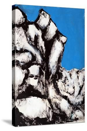 Rock Face, 2011-Rob Woods-Stretched Canvas Print