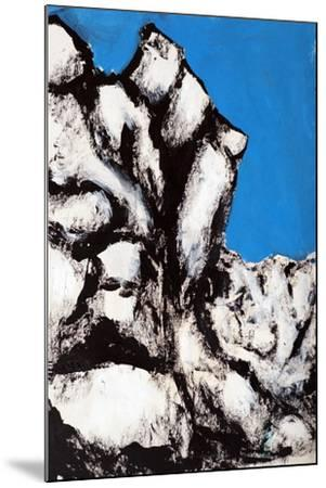 Rock Face, 2011-Rob Woods-Mounted Giclee Print