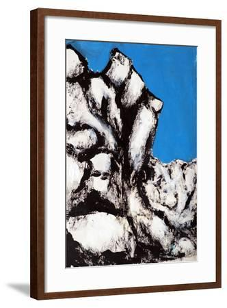 Rock Face, 2011-Rob Woods-Framed Giclee Print