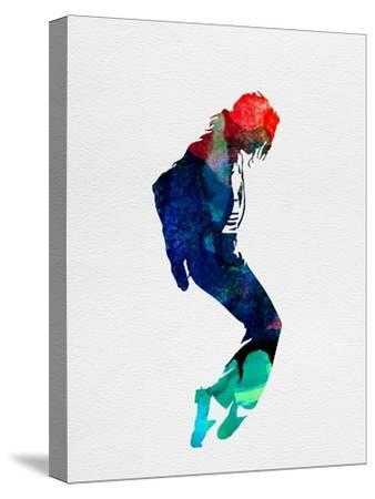 Michael Watercolor-Lora Feldman-Stretched Canvas Print