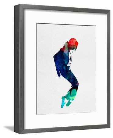 Michael Watercolor-Lora Feldman-Framed Premium Giclee Print