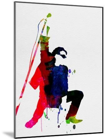 Bono Watercolor-Lora Feldman-Mounted Premium Giclee Print