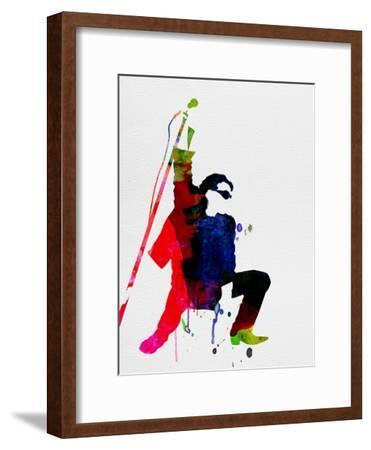 Bono Watercolor-Lora Feldman-Framed Premium Giclee Print