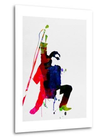 Bono Watercolor-Lora Feldman-Metal Print