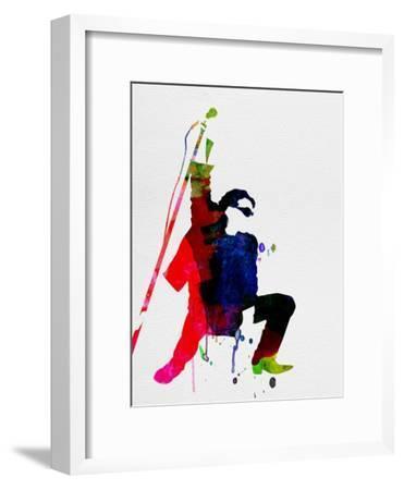 Bono Watercolor-Lora Feldman-Framed Art Print