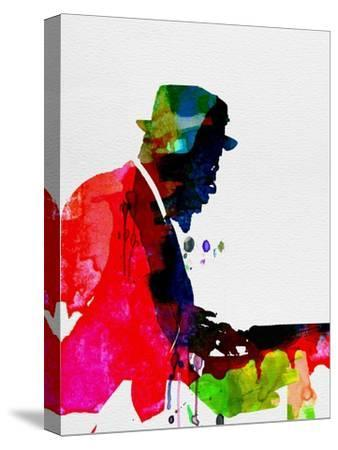 Thelonious Watercolor-Lora Feldman-Stretched Canvas Print