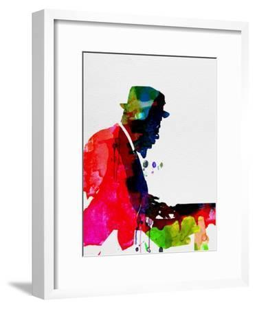 Thelonious Watercolor-Lora Feldman-Framed Premium Giclee Print