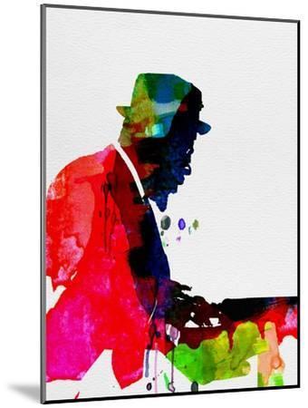 Thelonious Watercolor-Lora Feldman-Mounted Premium Giclee Print