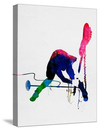 Joe Watercolor-Lora Feldman-Stretched Canvas Print