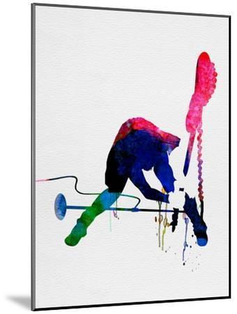 Joe Watercolor-Lora Feldman-Mounted Premium Giclee Print