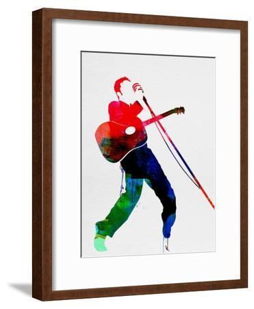 Elvis Watercolor-Lora Feldman-Framed Art Print