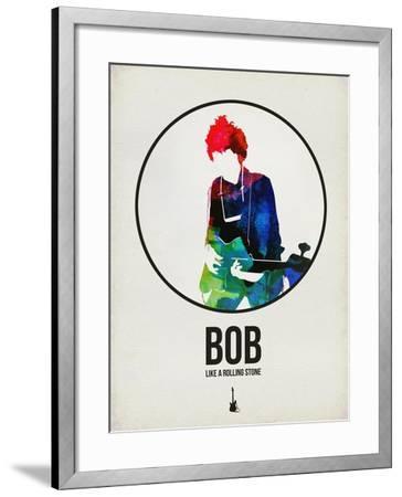 Bob Watercolor-David Brodsky-Framed Art Print