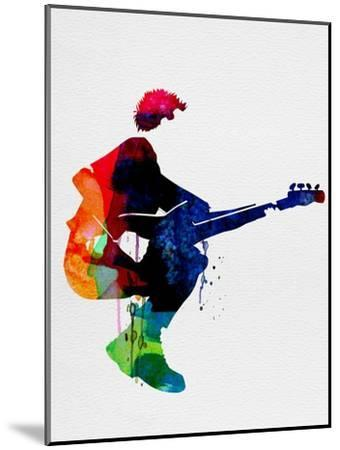 The Police Watercolor-Lora Feldman-Mounted Premium Giclee Print