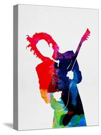 Prince Watercolor-Lora Feldman-Stretched Canvas Print