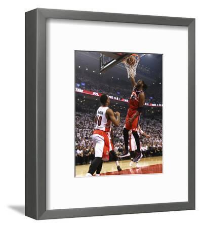 Washington Wizards v Toronto Raptors - Game One-Dave Sandford-Framed Photo
