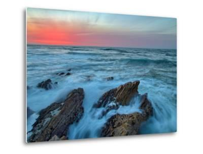 Central Coast Seascape at Montaña de Oro-Vincent James-Metal Print