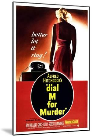 Dial M for Murder, 1954--Mounted Giclee Print