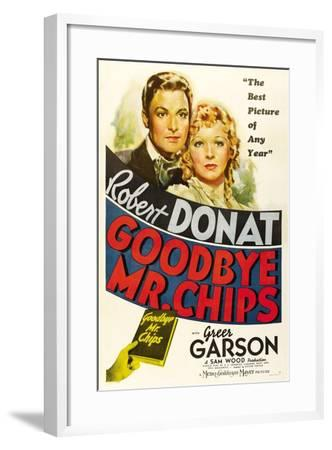 Goodbye, Mr. Chips, 1939--Framed Giclee Print