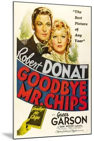 Goodbye, Mr. Chips, 1939--Mounted Giclee Print