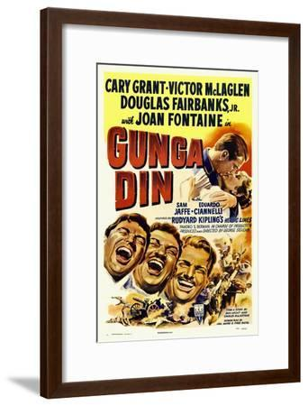 Gunga Din, 1939--Framed Giclee Print
