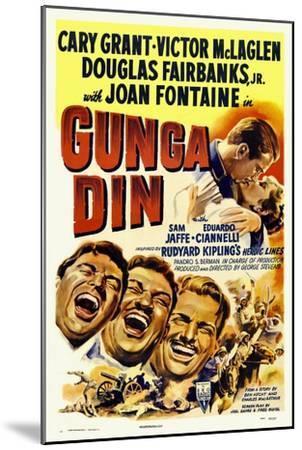 Gunga Din, 1939--Mounted Giclee Print