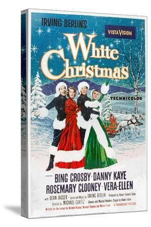 White Christmas, 1954--Stretched Canvas Print