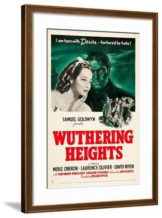 Wuthering Heights, 1939--Framed Giclee Print