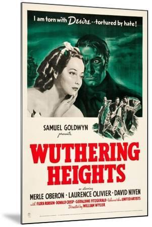 Wuthering Heights, 1939--Mounted Giclee Print