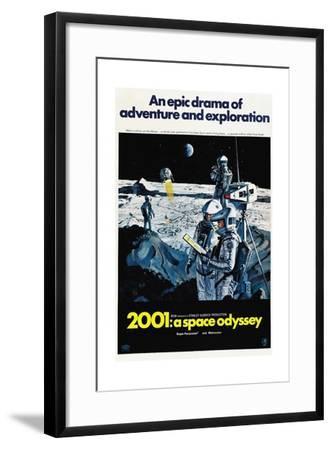 2001: A Space Odyssey, 1968--Framed Giclee Print