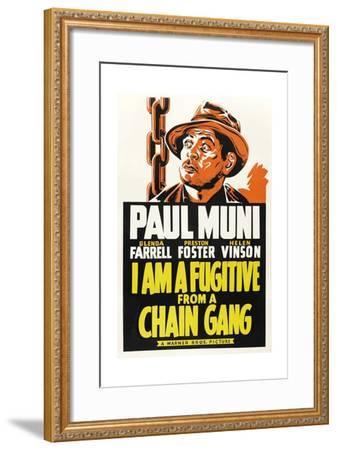 I Am a Fugitive from a Chain Gang, 1932--Framed Giclee Print
