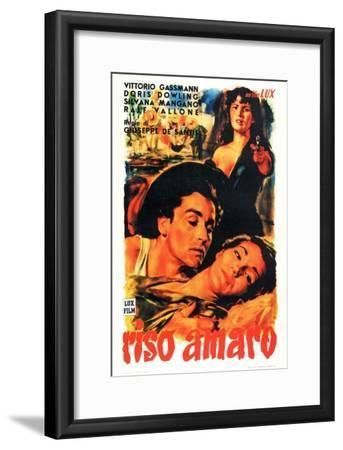 Bitter Rice, 1949 (Riso Amaro)--Framed Giclee Print