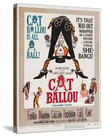 Cat Ballou, 1965--Stretched Canvas Print