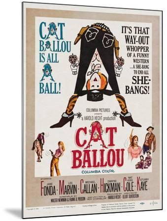 Cat Ballou, 1965--Mounted Giclee Print