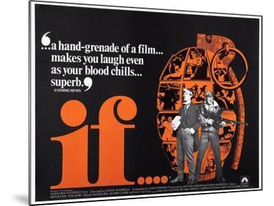 If.. . 1968--Mounted Giclee Print