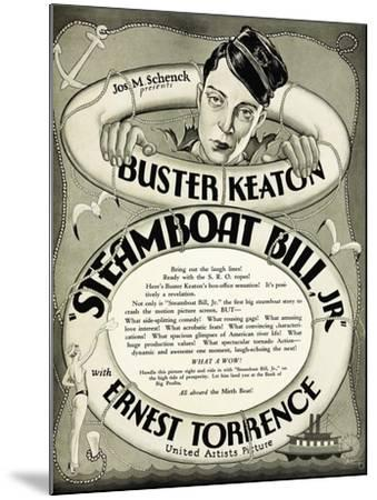 Steamboat Bill Jr., 1928--Mounted Giclee Print