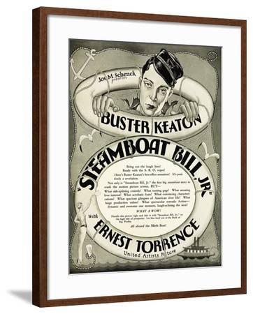 Steamboat Bill Jr., 1928--Framed Giclee Print