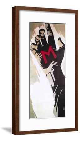 M, 1931--Framed Giclee Print