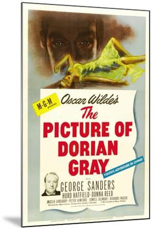 The Picture of Dorian Gray 1945--Mounted Giclee Print