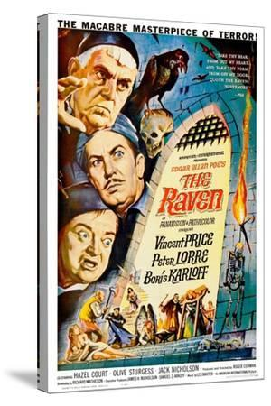 The Raven, 1963--Stretched Canvas Print