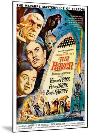 The Raven, 1963--Mounted Giclee Print