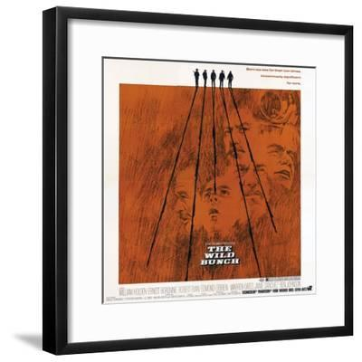 The Wild Bunch, 1969--Framed Giclee Print