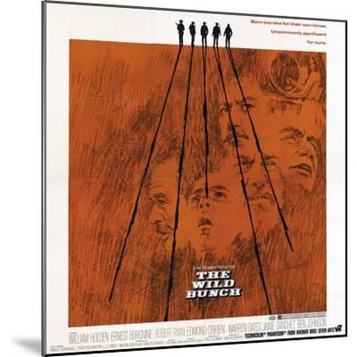 The Wild Bunch, 1969--Mounted Giclee Print