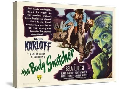 The Body Snatcher, 1945--Stretched Canvas Print