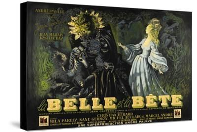 Beauty and the Beast, 1946 (La Belle Et La Beïte)--Stretched Canvas Print
