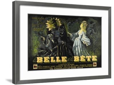 Beauty and the Beast, 1946 (La Belle Et La Beïte)--Framed Giclee Print