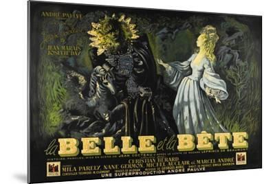 Beauty and the Beast, 1946 (La Belle Et La Beïte)--Mounted Giclee Print