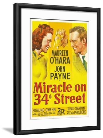 Miracle on 34th Street, 1947--Framed Giclee Print