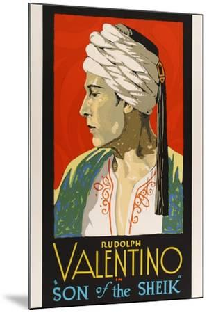 The Son of the Sheik, 1926--Mounted Giclee Print