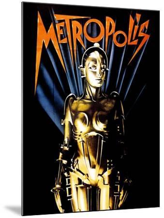 Metropolis, 1927--Mounted Giclee Print